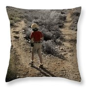 The Twelve Gifts Of Birth - Courage 1 Throw Pillow