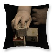 The Twelve Gifts Of Birth - Final Image Throw Pillow