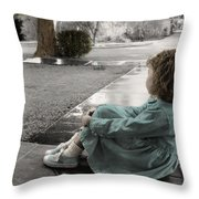 The Twelve Gifts Of Birth - Hope 1 Throw Pillow