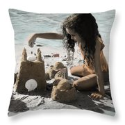 The Twelve Gifts Of Birth - Imagination 1 Throw Pillow