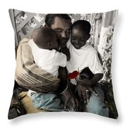 The Twelve Gifts Of Birth - Love 1 Throw Pillow