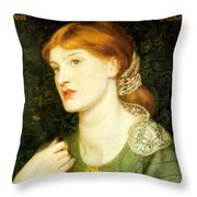 The Twig Throw Pillow
