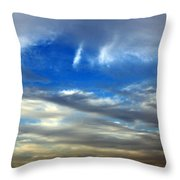 The Twin Lights Throw Pillow