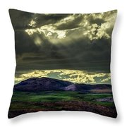 The Twisted Sky Throw Pillow