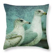 The Two Guys Throw Pillow