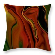 The Two Throw Pillow