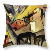 The Unfortunte Land Of Tyrol 1913 Throw Pillow