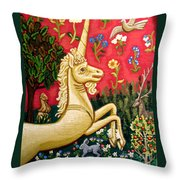 The Unicorn Throw Pillow