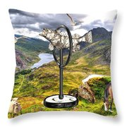 The Unimaginable Dream Of The Fish 2 Throw Pillow