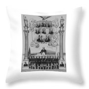 The Union Must Be Preserved Throw Pillow