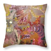 The Unseen Throw Pillow