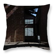 The Upper Level Throw Pillow