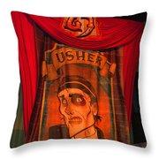 The Usher Hhn 25 Throw Pillow