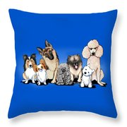 The Usual Suspects 3 Throw Pillow