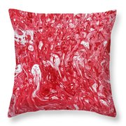 The Valentine's Day Massacre Throw Pillow