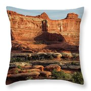 The Valley Of Kings Throw Pillow