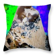 The Valley Of Shangri-la Throw Pillow