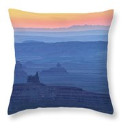 The Valley Of The Gods Throw Pillow
