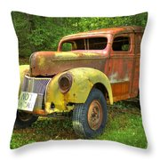 The Van Too Throw Pillow