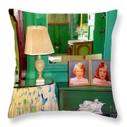 The Vanity Throw Pillow