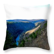 The Vast Pa Grand Canyon Throw Pillow