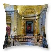 The Vatican Museum In The Vatican City Throw Pillow