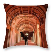 The Vatican Vampire Throw Pillow