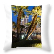The Venetian Hotel And Casino Las Vegas Throw Pillow