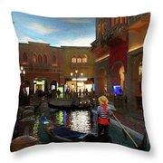 The Venetian Throw Pillow