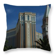 The Venetian, Las Vegas Throw Pillow