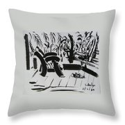 The Veranda Throw Pillow