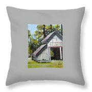 The Verona Barn Throw Pillow