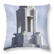 The Versailles Hotel Tower - Miami Beach Throw Pillow