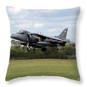 The Vertical Take-off Throw Pillow