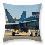 The Veteran Throw Pillow