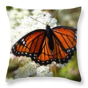 The Viceroy And The Queen Throw Pillow