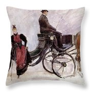 The Victoria Throw Pillow