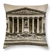 The Victoria Rooms, Bristol Throw Pillow