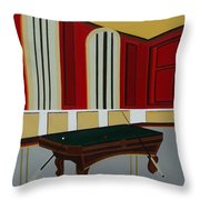 The Victorian Retreat Throw Pillow