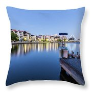The View At Day's End  Throw Pillow