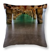 The View Below Throw Pillow