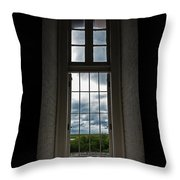 The View Form Within-color. Throw Pillow