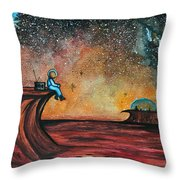 The View From Here.  Throw Pillow