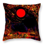 The View From John Carter's Cave Throw Pillow by Eikoni Images