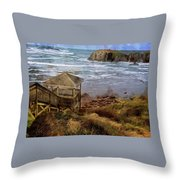 The View From Kronenberg Park Throw Pillow