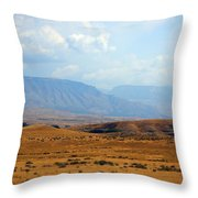 The View From Red Gulch Throw Pillow