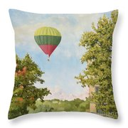 The View From The Window Throw Pillow
