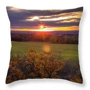 The View From Up Here Throw Pillow by Viviana Nadowski