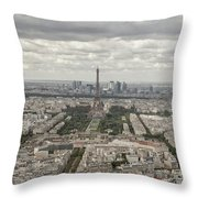 The View Of The Tower Throw Pillow