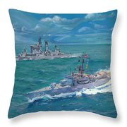 The Vigilant Shepherd Throw Pillow